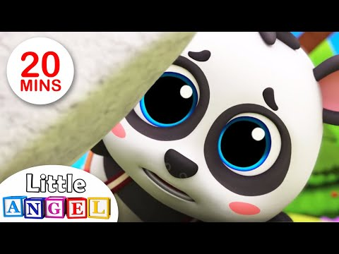 Baby Panda Lost His Mommy! | Baby Panda | Children's Nursery Rhymes and Kid Songs by Little Angel