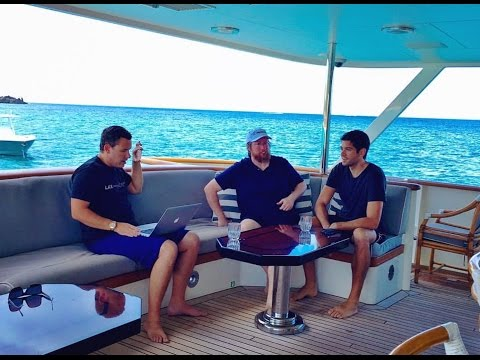 Q&A With My First 2 Millionaire Students On A $10 Million Yacht