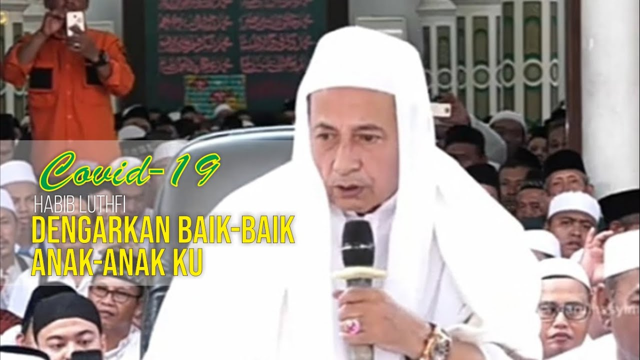 Pesan Habib Luthfi Menanggapi Virus Corona | Bangkit TV