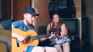 Quiero  Levantar a Ti Mis Manos -Cover- Claudia Rodriguez y Ale Machado