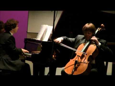 Franz Liszt, Consolation no. 5, Guido Schiefen (cello), Eric Le Van (piano)
