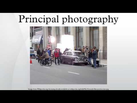 Principal photography