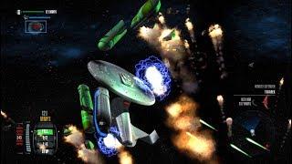 Ambassador Class vs. Romulan Fleet - Star Trek Legacy: Ultimate Universe 2.2