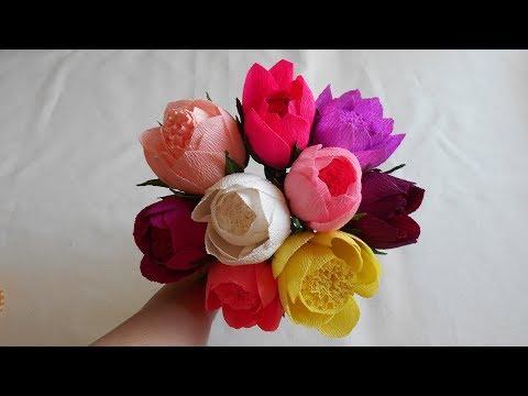 Цветы для букета из конфет