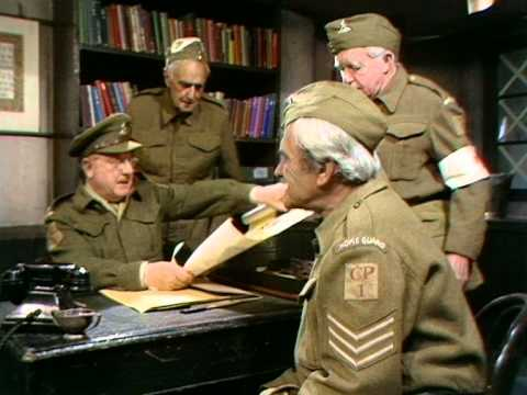 Dad's Army - The Face on the Poster