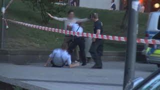 Gewaltsame Festnahme am Kölner Ebertplatz am 05.06.17