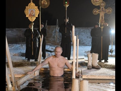 "Breaking News: ""Putin In ""ICY Waters"" Epiphany He Cleanses His Soul"