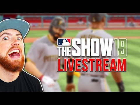 MLB THE SHOW 19 LIVESTREAM!