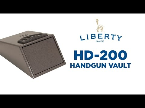 HD-200 Handgun Vault Video