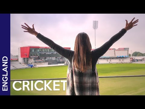 Cricket World Cup 2019 England stadium in Manchester + trip to Nottingham (UK)