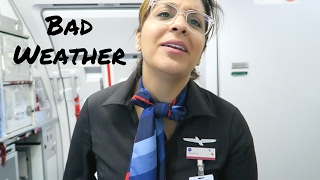 Winter Storms Delay Flight Attendants Too  |  Flight Attendant Life  |  VLOG 16