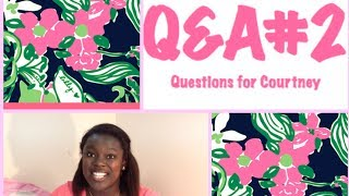Q&A: Questions for Courtney #2 - College, Editing, Sorority Life, Future Videos, and more! Thumbnail