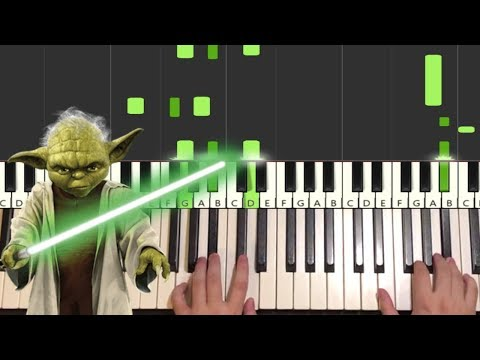 Star Wars - The Force Theme (Piano Tutorial Lesson)
