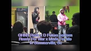 GHNS Reek x D Future perform in Summerville, SC!!