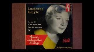 lucienne DELYLE / Sur ma vie (Charles Aznavour) / 1956