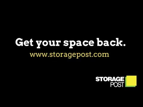 Storage Post Gives You Your Space Back - YouTube