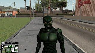 GTA SA   Green Goblin   SKIN (Spiderman 1)