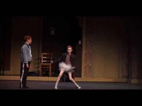 Whatever gave you that impression, Billy Elliot: Gabriel Omlor Cole Carrico Croswell Opera House