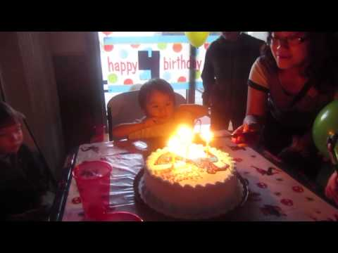 The Rockstar's 4th Birthday Party (Part 1 of 2)
