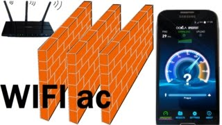 TP-LINK Archer c7 Router WIFI 5GHz vs 2,4 GHz LOW SIGNAL Speed test