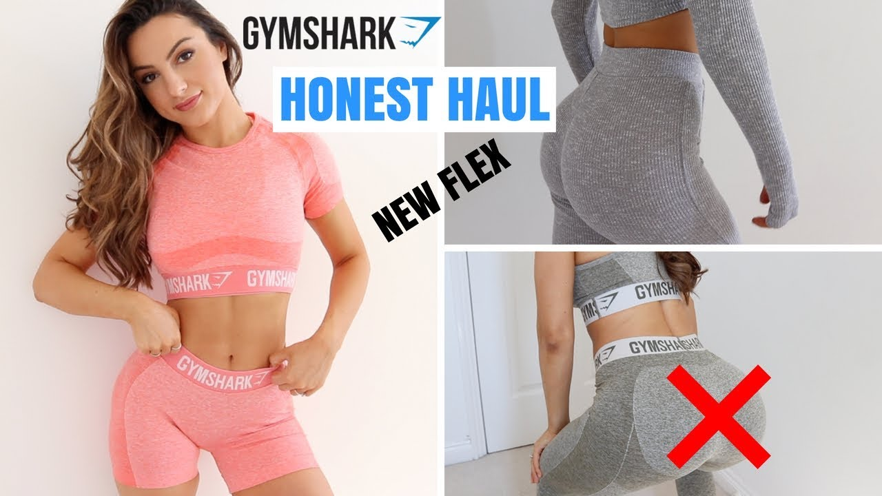 825bfe7ed2eb0 NEW GYMSHARK RELEASES | Try On Honest Haul - YouTube