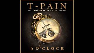 TPain - 5oClock In The Morning[Chopped and Screwed]Ft.Lily Allen & Wiz Khalifa