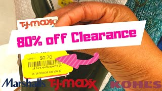 80% off Clearance Hurry! TJ Maxx,Kohls, & Marshalls!