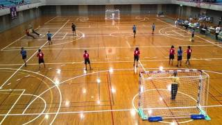 2016/04/23 ハンドボール 高校総体 東部(3) vs御殿場(赤)
