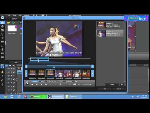 Hướng dẫn biên tập video bằng phần mềm cyberlink powerdirector 9