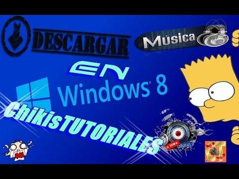 como descargar musica en windows 8 y 8.1 sin virus