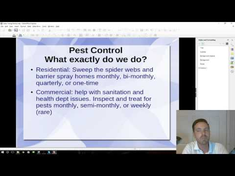 Traffic Pest Solutions: Pest Control Direct Marking Introduction
