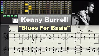 Kenny Burrell - Blues For Basie (1978) - Virtual Guitar Transcription Gilles Rea