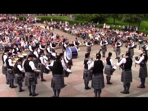 PEOPLES FORD BOGHALL AND BATHGATE CALEDONIA PIPE BAND.GRADE 1.EDINURGH PIPE BAND CHAMPIONSHIP 2019