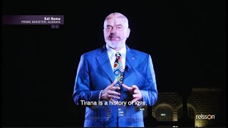 Anniversary of Tirana - Hologram Event