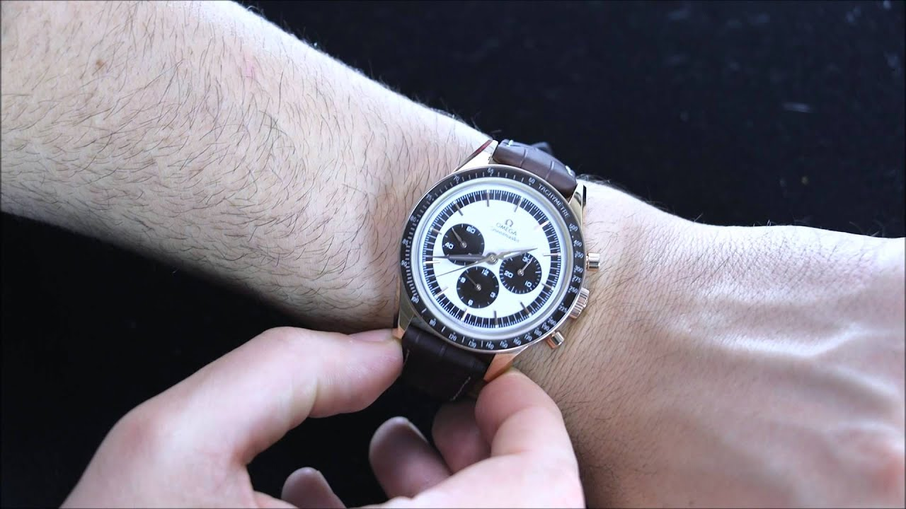 Omega Speedmaster First Omega In Space Watch Review Ablogtowatch