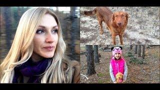 Таинственный Лес! Я,Рыжая Собака и Ритка / Влог
