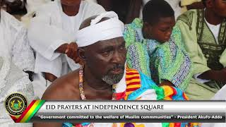 EID Prayers at the Independence Square