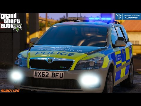GTA5 LRPC - Full Live 2hr Emergency Response Team Shift! - British Met Police Online - London RPC #6