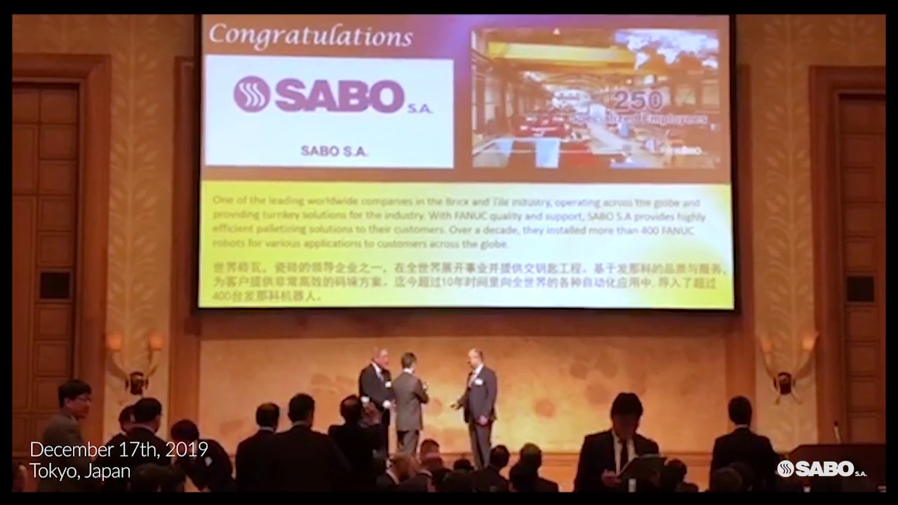 SABO S.A. wins FANUC Global Application Award!