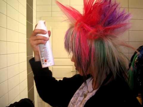 crazy anime hair