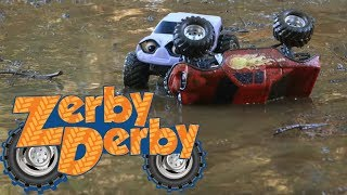 Zerby Derby |🚗| A RAINY & MUDDY DAY IN ZERBY TOWN |☔| Best of Spring |Season 1| Clip Compilation