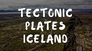 North American & Eurasian tectonic plates, Iceland from the Mavic Pro Drone