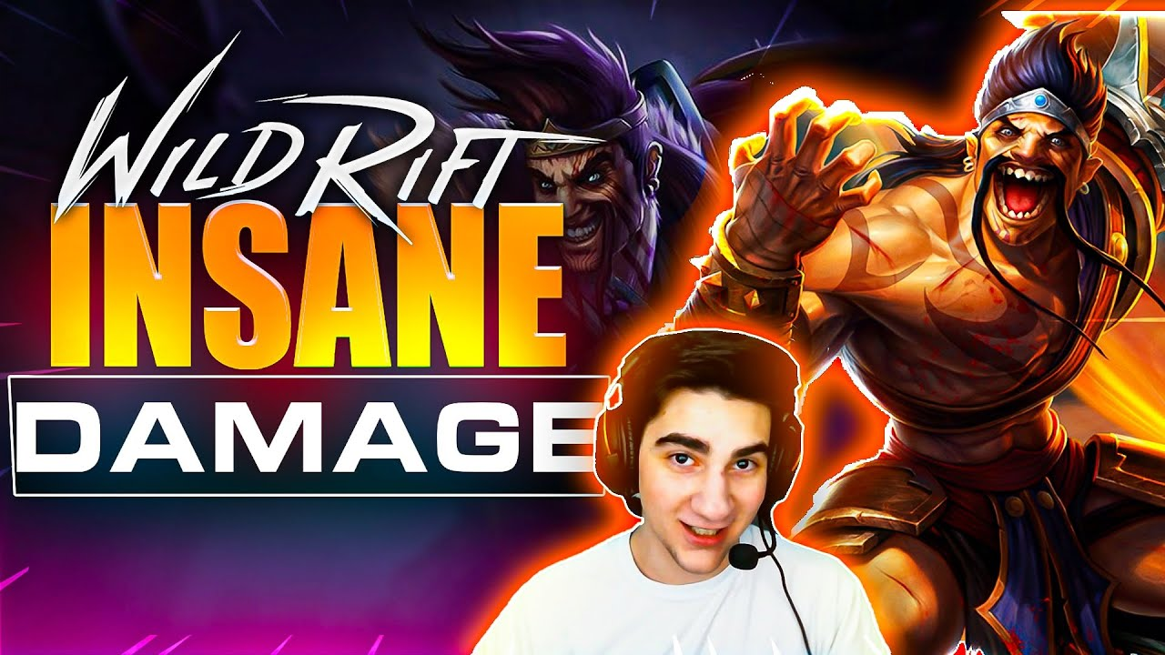 Draven Has Insane Damage In Wild Rift Best Draven Build And Gameplay Youtube