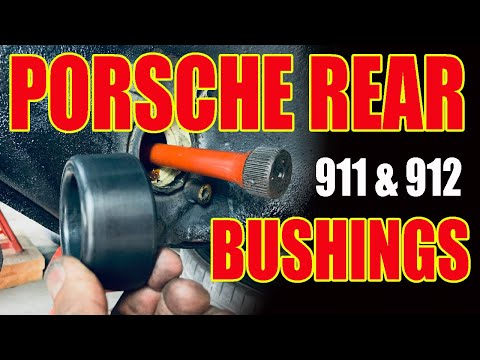 HOW TO INSTALL & REPLACE PORSCHE 911 912 REAR SPRING PLATE BUSHINGS – PORSCHE RIDE HEIGHT ADJUSTMENT