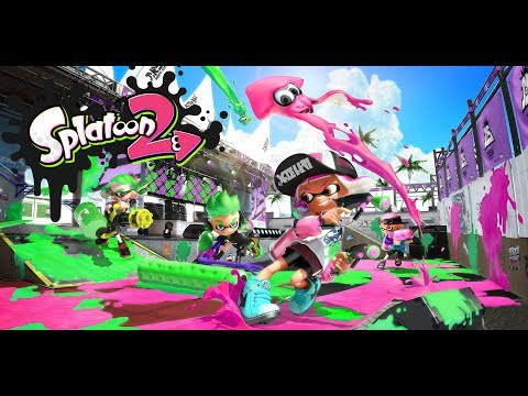 Splatoon 2 - Live Stream #3 (Become One With the Ink)