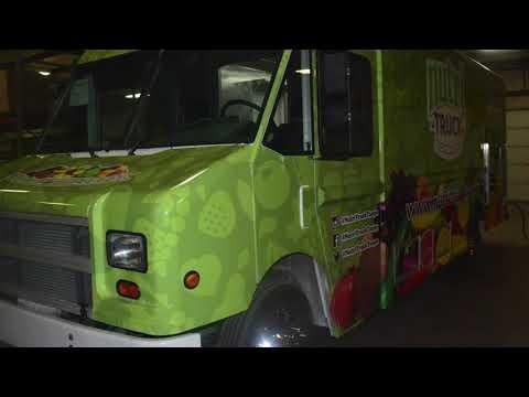 Nutri-Truck Food Truck Built By Prestige Food Trucks