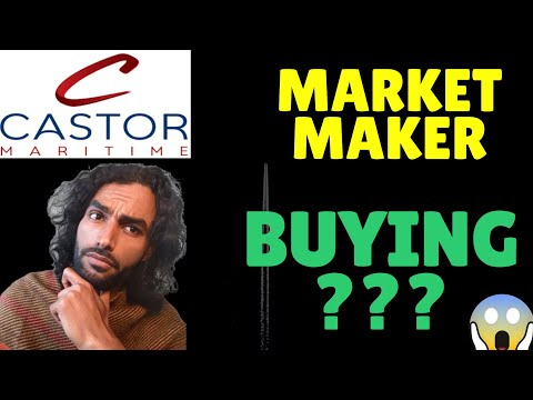 Castor Maritime (CTRM) Market Maker Buying $ ? ⚠!! - HURRY! - Stock Analysis + Price Target