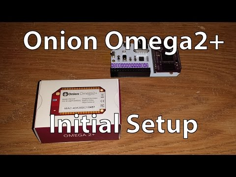 Setting Up the Onion Omega2+