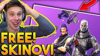 Fortnite FREE Skins! How to get to them!