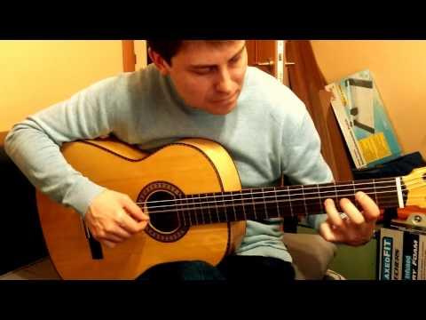 Классическая кленовая гитара Александра Ачаповского